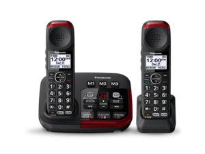 amplified cordless phone image